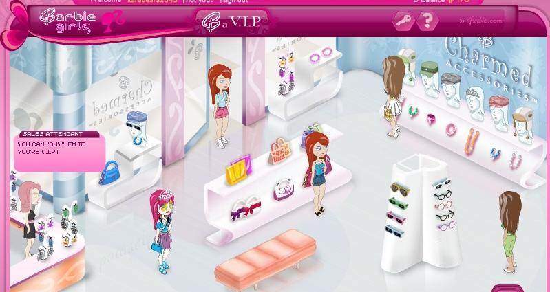 Barbie Girls' site finally adds a V. I. P option TechCrunch